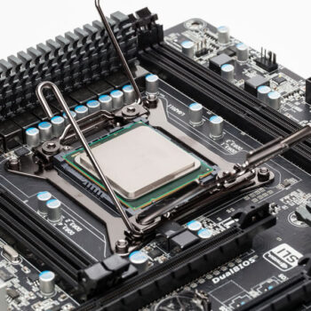Chip Part of Motherboard