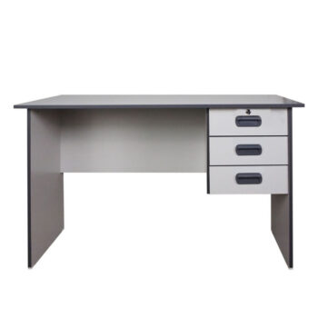 Office Table with Shelves